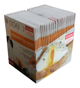 Poached Egg Bags Display 24 * 12 Stuks